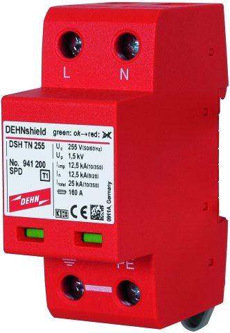 AC túlfeszültségvédelem, DEHNshield TN 255