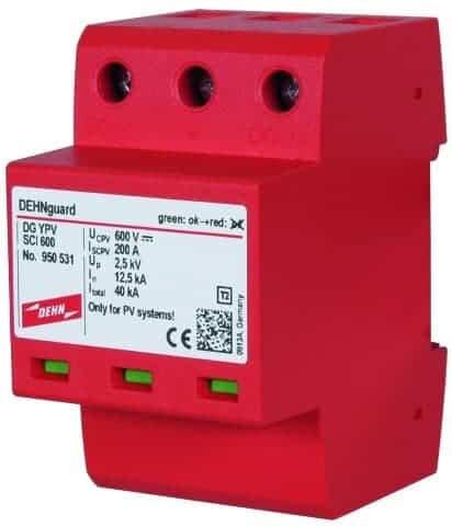 DC túlfeszültségvédelem, DEHNguard compact YPV SCI 600