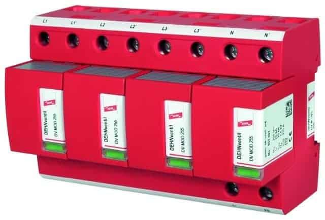 AC túlfeszültségvédelem, DEHNventil M TNS 255