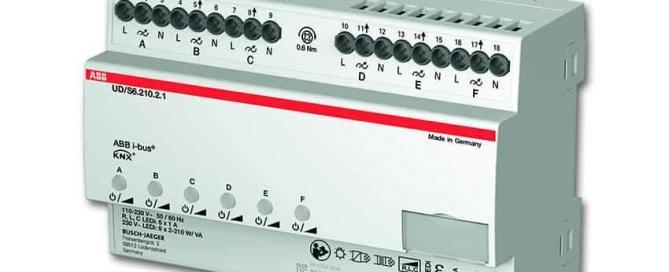 KNX LED dimmer 6csatorna